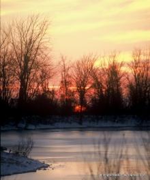 sunset Ozarks, saying goodbye to 2013