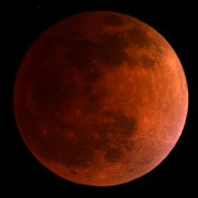 Blood Moon- Blood Red Beauty, poetry