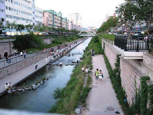 urban greenspace, Seoul, Korea, Awesome Stories