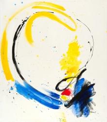 Painting by Vera Komnig