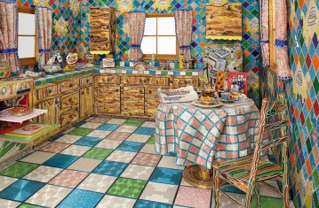 kitchen mosaic, Awesome Stories