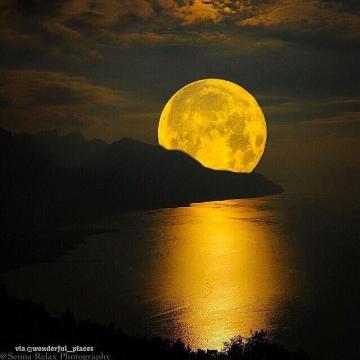 poetry, love, kisses, moon