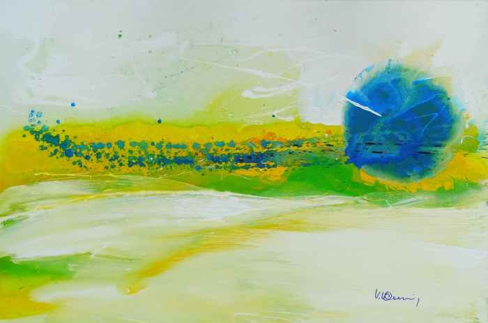 Vera Komnig, painting, poetry