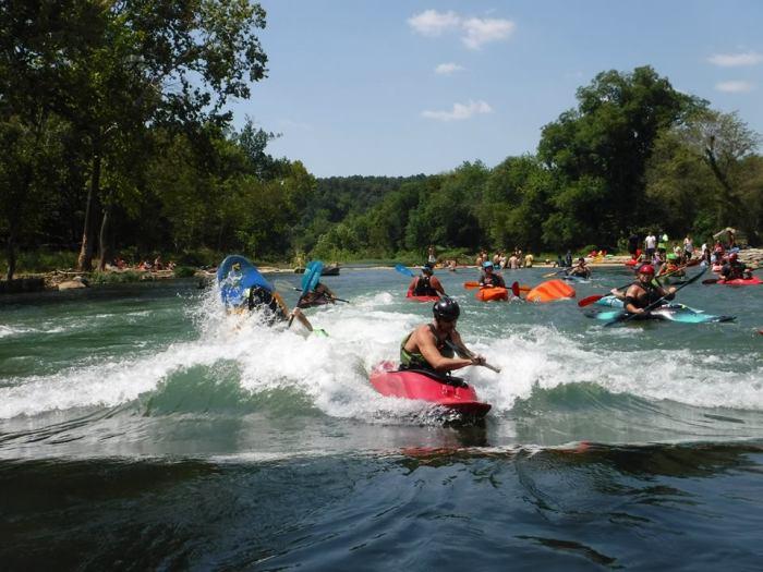 Dan kayaking
