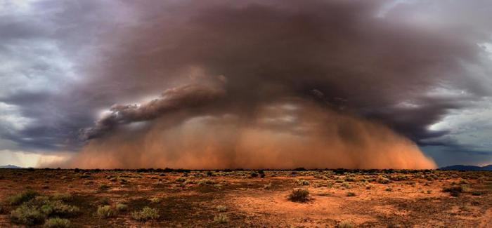desert storms, photography