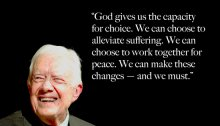 Jimmy Carter, Humility