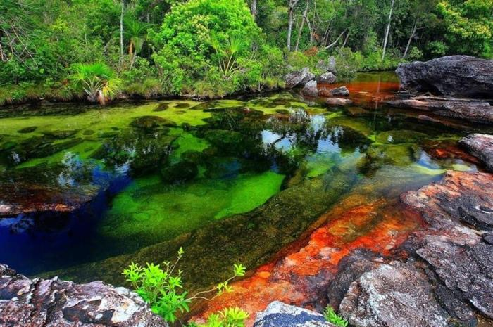 Rainbow River, poetry