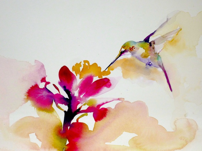 hummingbird, joy, poetry