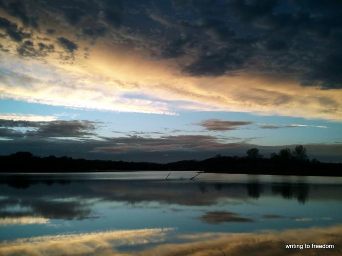 sunsets, silence