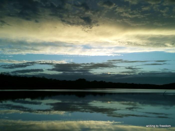 sunsets, beauty, silence