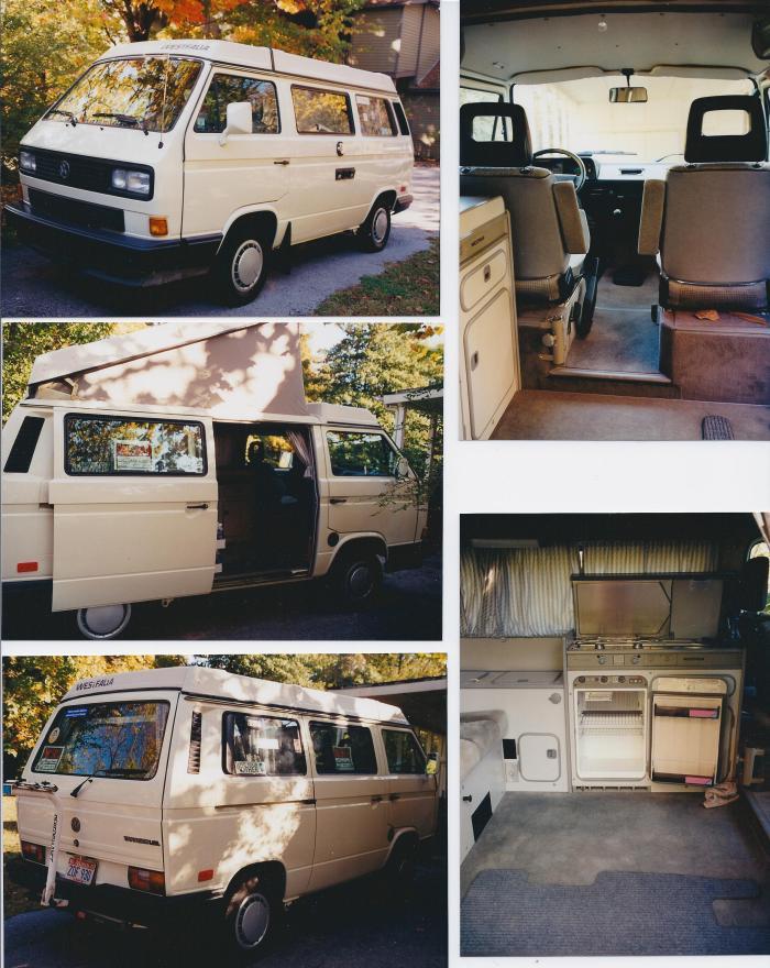 my beloved VW Westfalia camper
