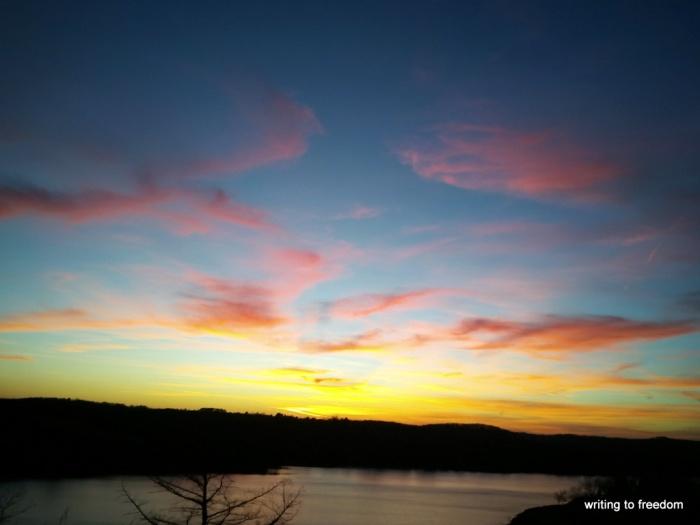 sunset, haiku, poems
