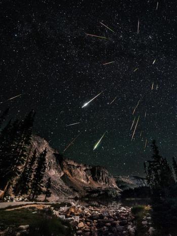 perseid meteor, poetry