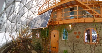 sustainable living, dome home, Awesome Stories