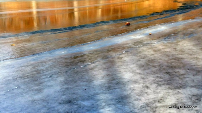 frozen lake, poetry