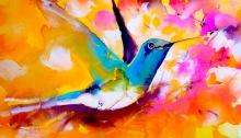 hummingbirds, poetry