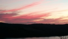 light, sunset, poetry