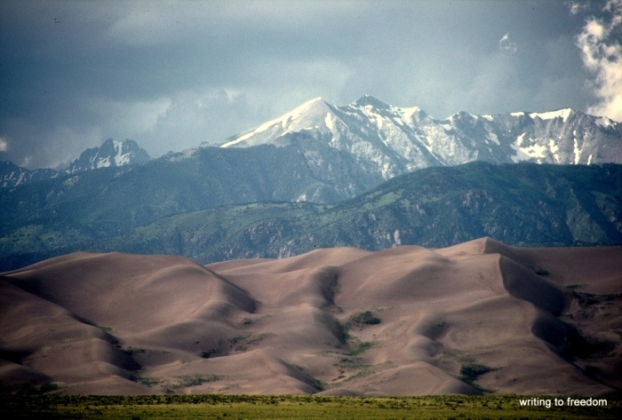 Great Sand Dunes, poetry