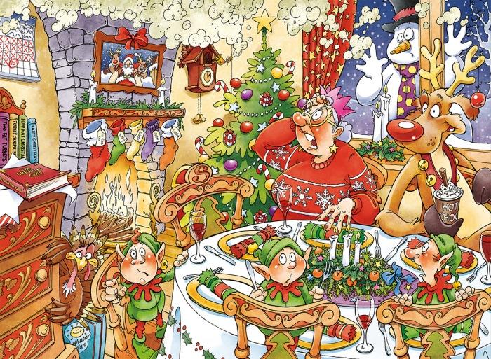 Christmas, merriment
