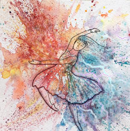 Cosmic Dancer, haiku
